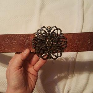 <FREE w/Bundle> Leather Belt